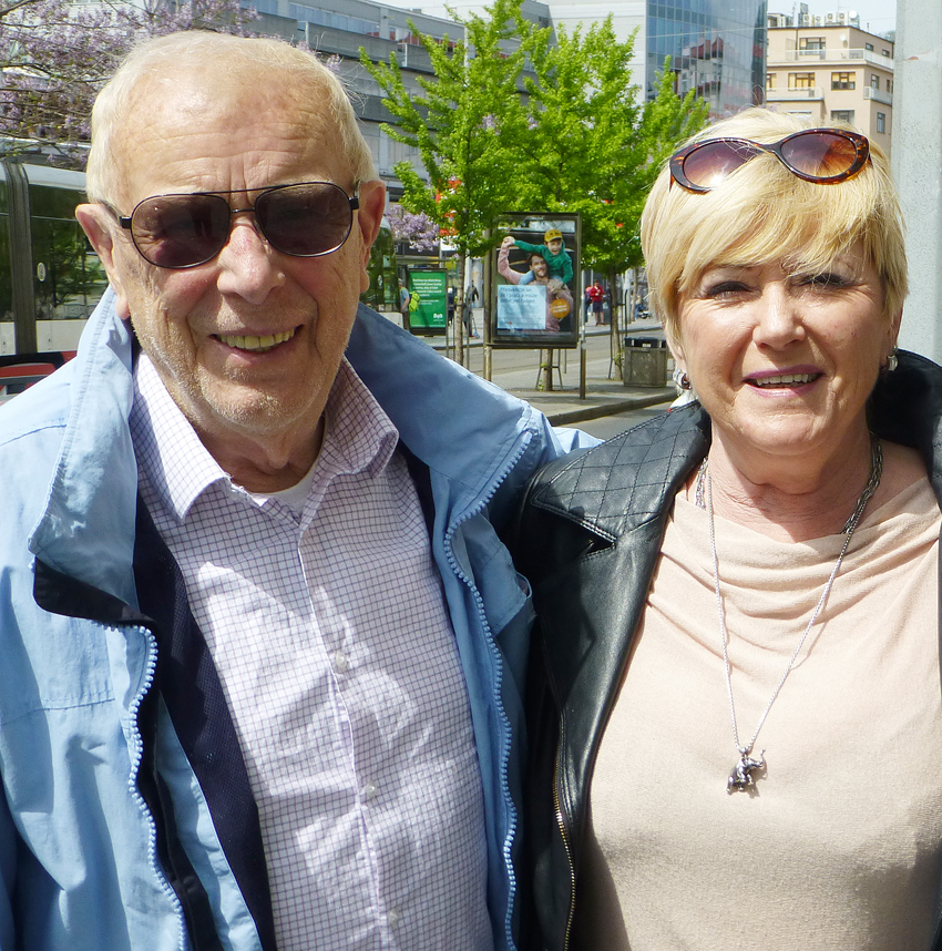 Helmut Gaensel, being almost 85 and in good shape, decided to resume the